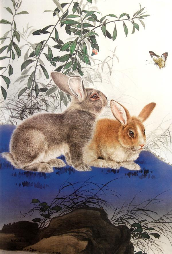 当代中国画名家画兔·王申勇·王智勇·米春茂·陈军·苏柏斗·荆振初