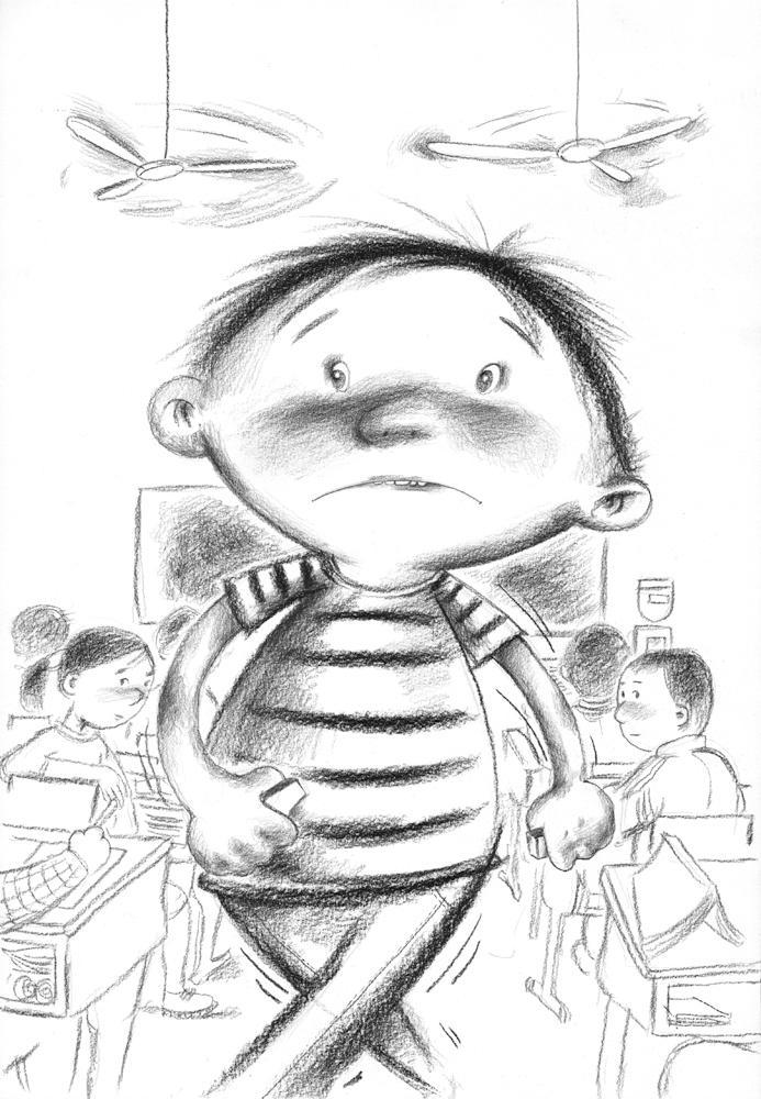 乌龟的素描画步骤