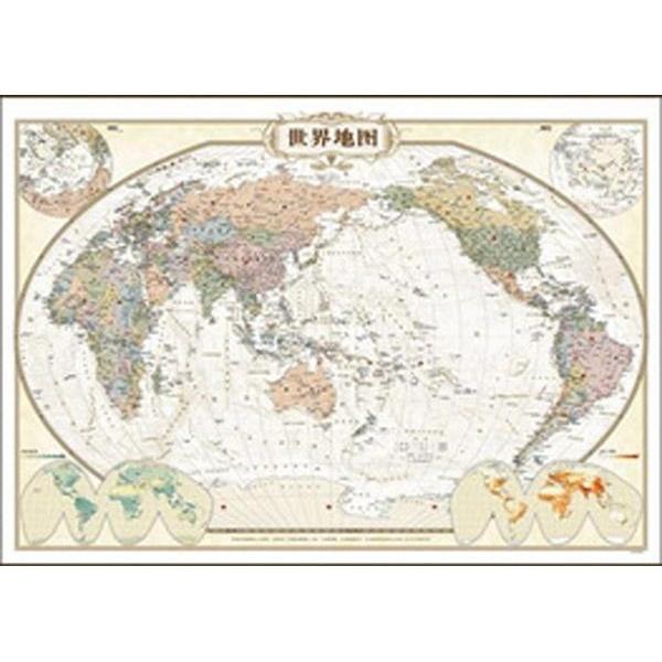 世界地图(仿古精装)-本社
