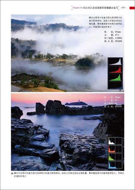 风景图片两分法构图