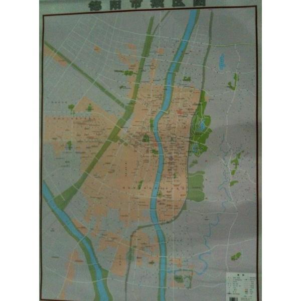 德阳市城区地图 -成都地图出版社