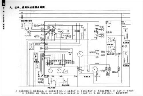 底盘电路图   第三节  电气系统电路图 第八章  上海通用别克凯越