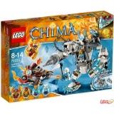 乐高 LEGO L70223 气功传奇 冰熊王的超级机甲巨熊