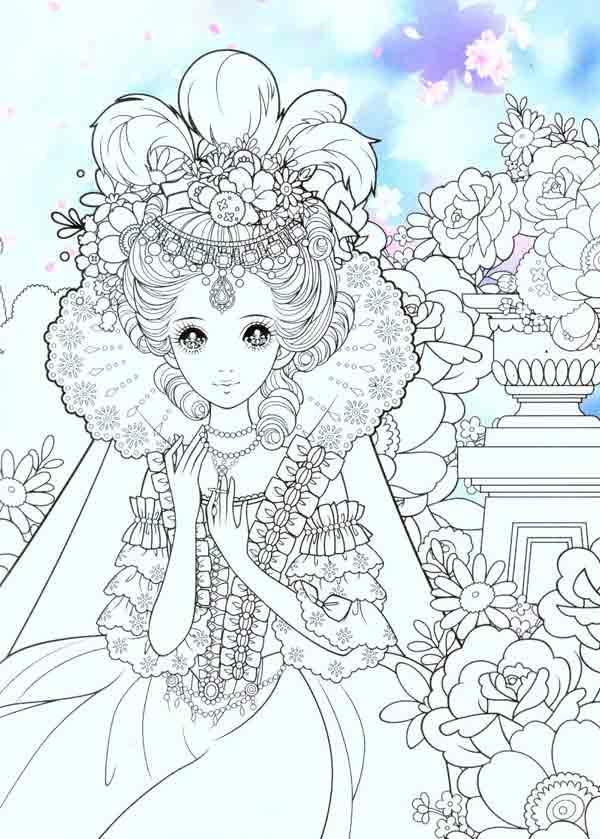 公主衣服怎么画简笔画