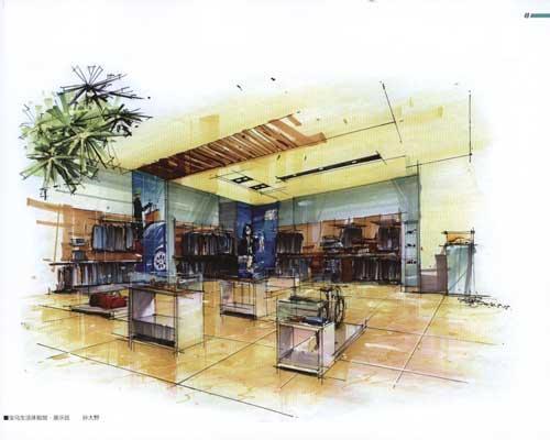 设计与手绘表现丛书:商业空间