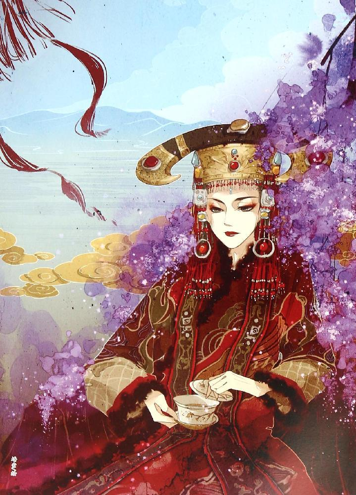红颜:古代女子画集