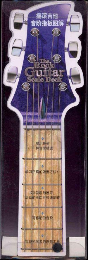 摇滚吉他音阶指板图解