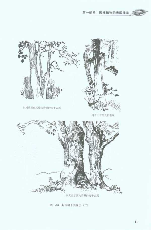 园林景观手绘表现技法(第2版)-胡长龙