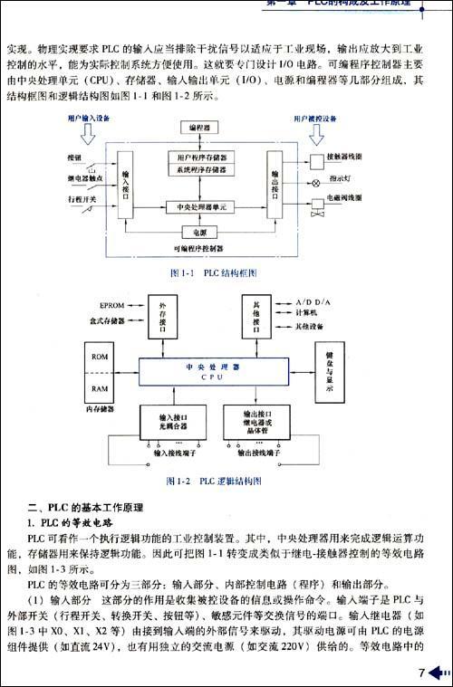 运料小车控制程序设计实例分析 第九节物料传送带顺起逆停控制