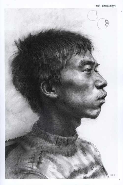 李向兵 夏涛素描头像教学/绘画阶梯教学丛书大范本系列 名家艺术教学