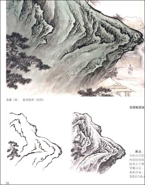 《北派名家山水画石法》()【简介 评价 摘要 在线