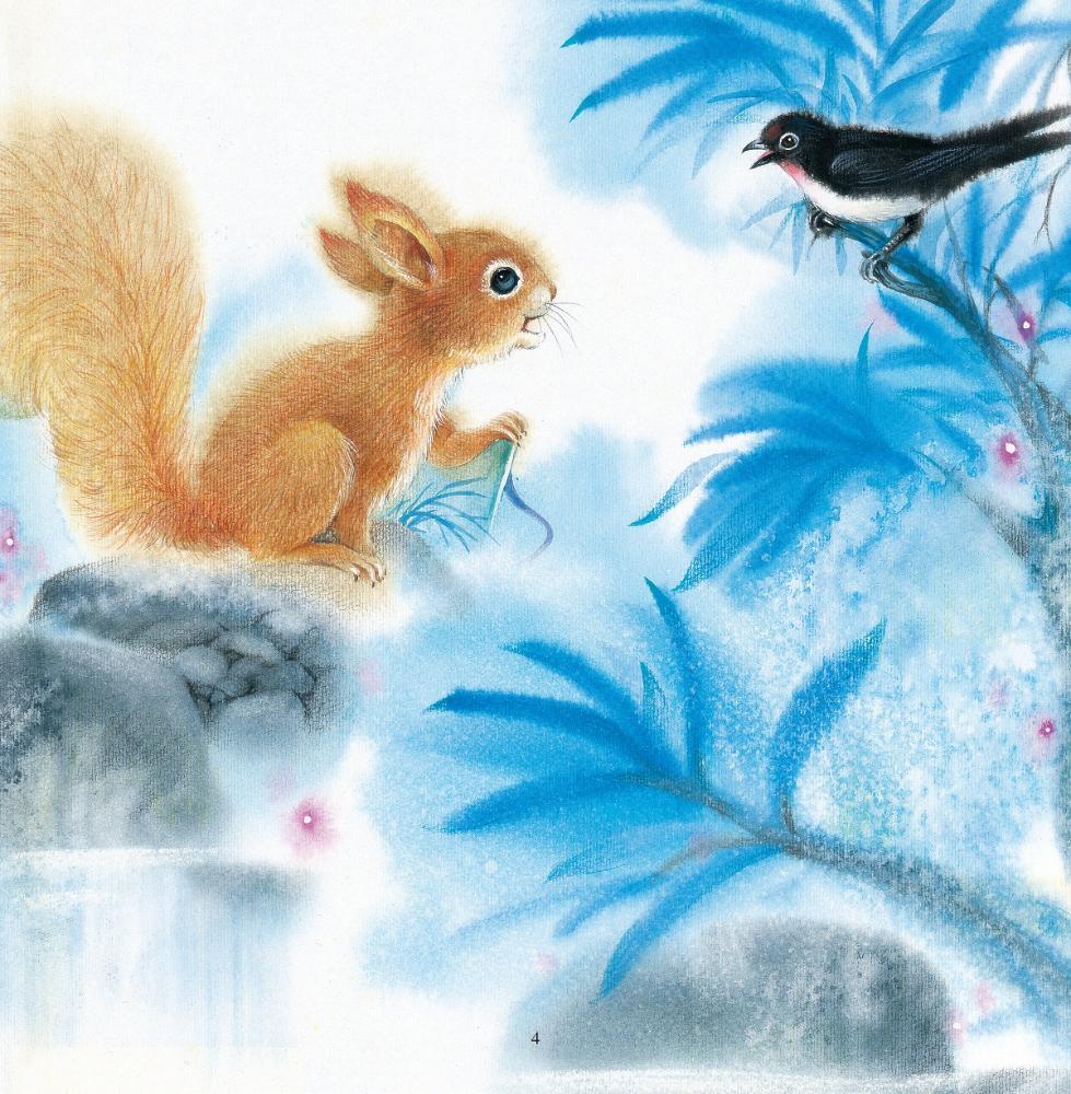 少儿国画图片 小动物