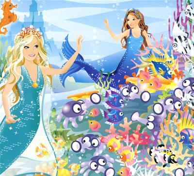 美人鱼公主2 芭比美人鱼公主