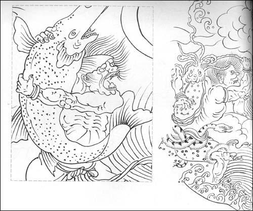 枣核型衣服手绘设计图