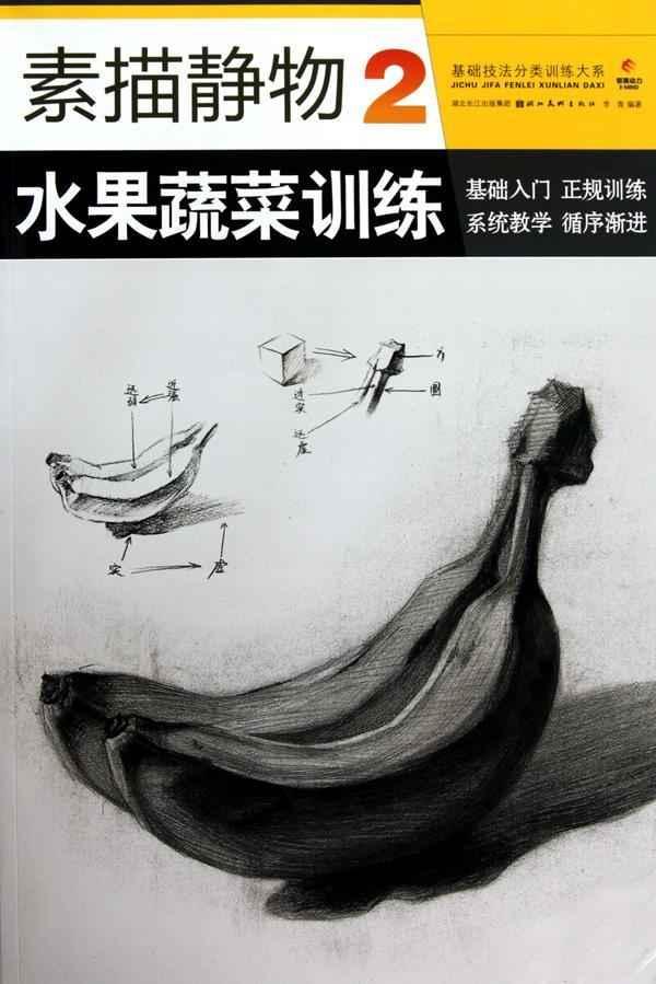 素描静物 2 水果蔬菜训练,素描,速写,图书-文轩网
