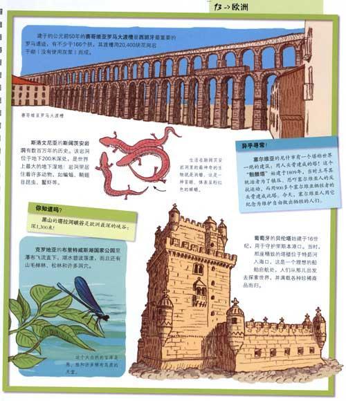 世界名胜古迹地图