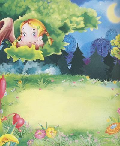 康之园 头上有荷叶的青蛙  分层素材   荷叶荷花青蛙简笔画   儿童简