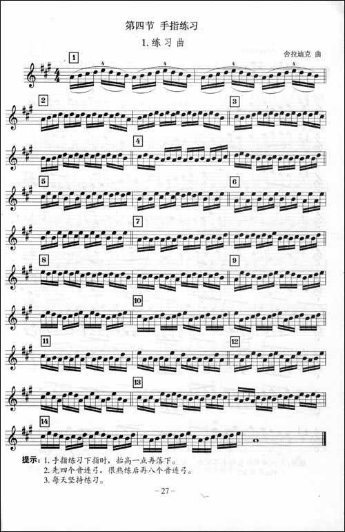小星星小提琴谱 由传说吉他网精心为.