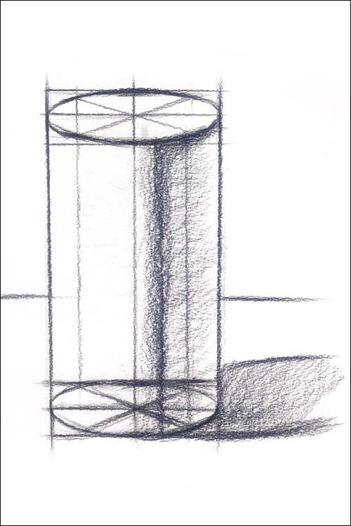 课题二 正方体结构写生 课题三 圆柱体结构-我发过绝对没人发过的联图片